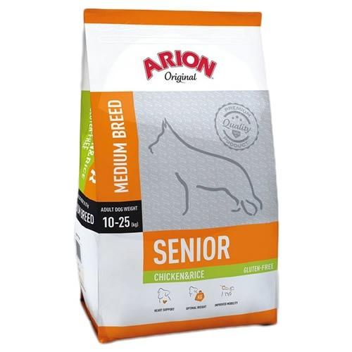(2,92 EUR/kg) Arion Original Senior Medium Chicken & Rice 12 kg