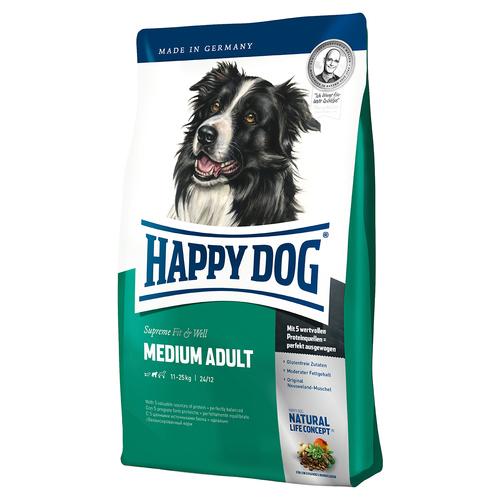(4,10 EUR/kg) Happy Dog Supreme Fit & Well Medium Adult 4 kg