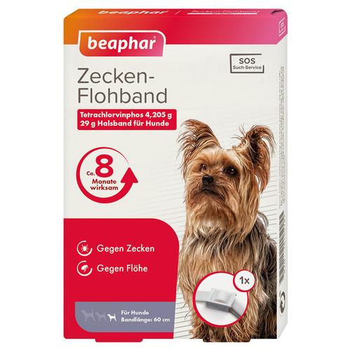 Details zu Beaphar Hunde Zecken Flohband Junior, UVP 11,45 EUR, NEU