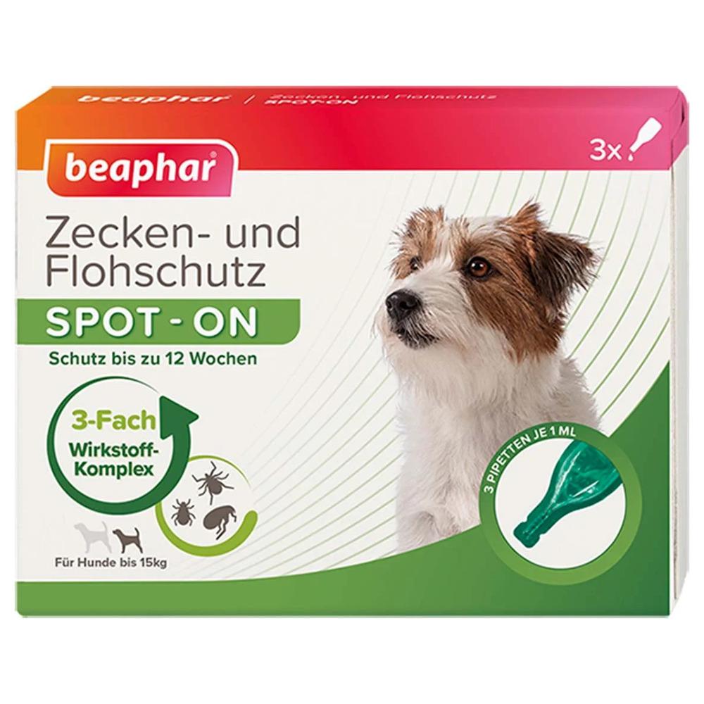 beaphar zecken und flohschutz spot on 3x1 ml f r kleine hunde. Black Bedroom Furniture Sets. Home Design Ideas