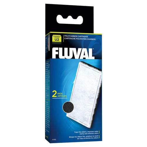 fluval poly aktivkohle filtereinsatz f r innenfilter u2. Black Bedroom Furniture Sets. Home Design Ideas