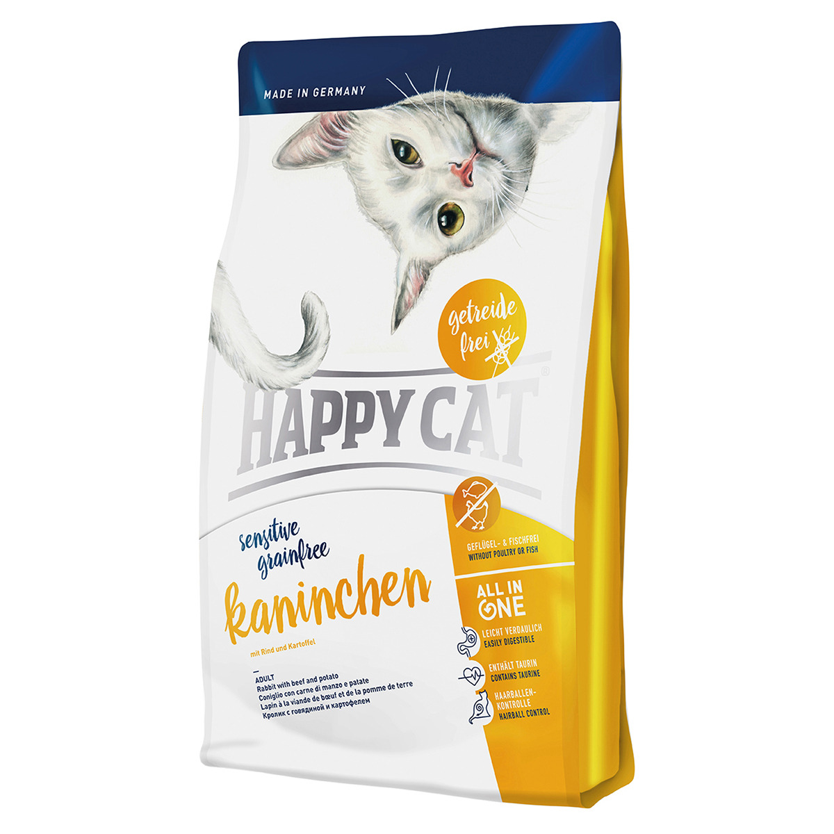 happy cat sensitive grainfree kaninchen 300 g. Black Bedroom Furniture Sets. Home Design Ideas