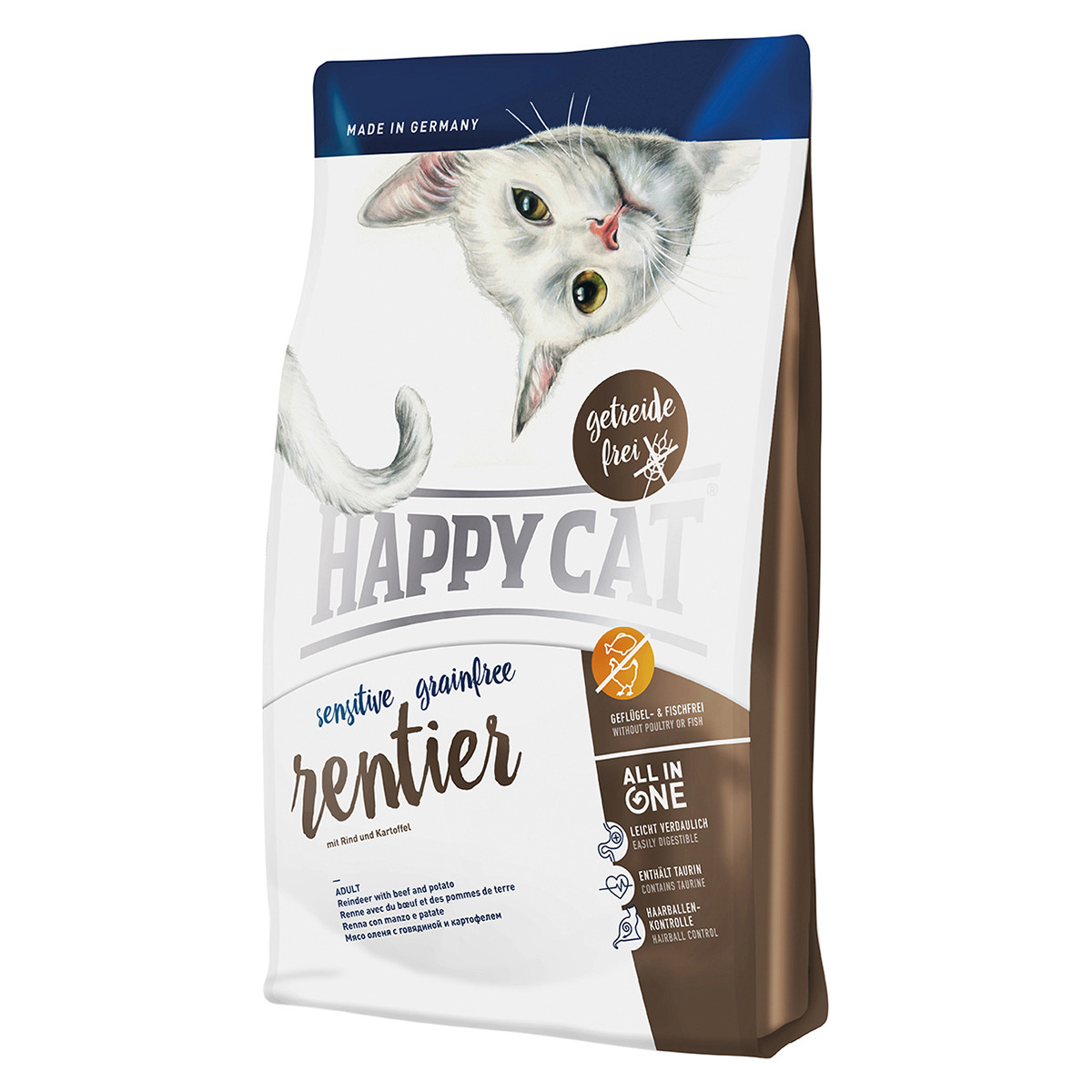 happy cat sensitive grainfree rentier 300 g. Black Bedroom Furniture Sets. Home Design Ideas