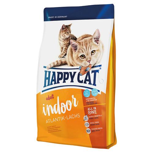 happy cat supreme adult indoor atlantik lachs 10 kg. Black Bedroom Furniture Sets. Home Design Ideas