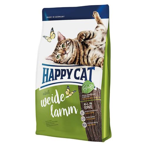 happy cat supreme adult weide lamm 10 kg. Black Bedroom Furniture Sets. Home Design Ideas