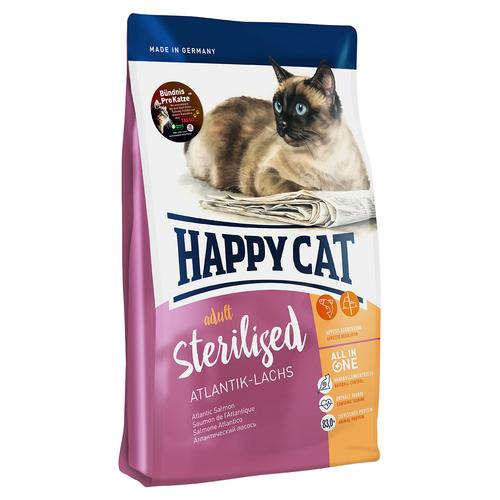 happy cat supreme sterilised atlantik lachs 4 kg. Black Bedroom Furniture Sets. Home Design Ideas