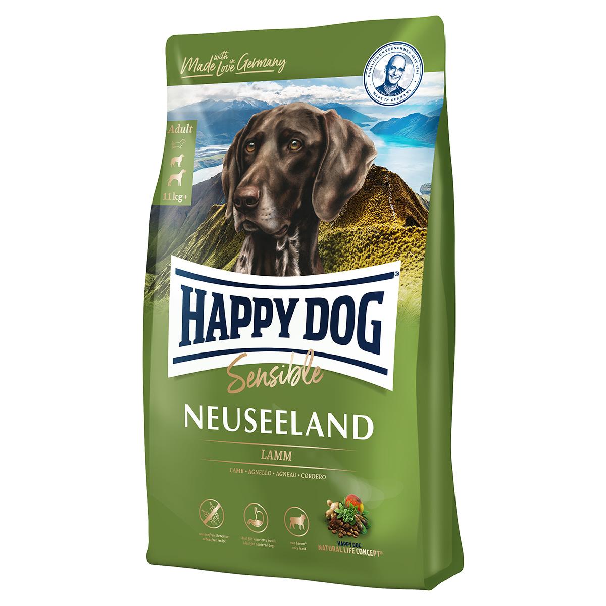 happy dog supreme sensible neuseeland 4 kg. Black Bedroom Furniture Sets. Home Design Ideas
