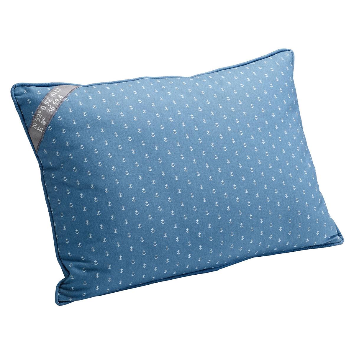 hunter deko kissen niblum blau wei. Black Bedroom Furniture Sets. Home Design Ideas