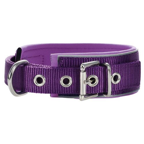 hunter halsband neopren reflect violett. Black Bedroom Furniture Sets. Home Design Ideas