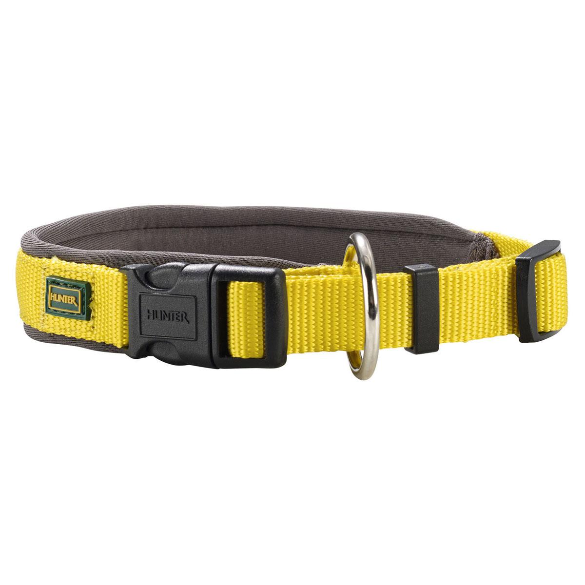 hunter halsband neopren vario plus gelb grau. Black Bedroom Furniture Sets. Home Design Ideas