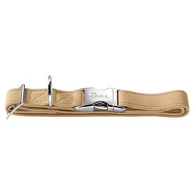 diverse Größen Hunter Hunde Halsband Softie Alu-Strong braun NEU