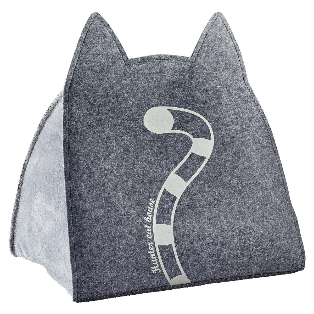 hunter katzenh hle lille anthrazit grau. Black Bedroom Furniture Sets. Home Design Ideas