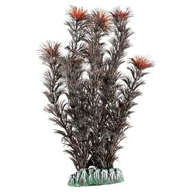 Karlie aquarium pflanze plastik guyana rot anthrazit for Deko fische plastik