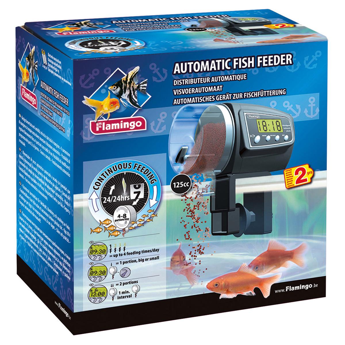 tsss automatische fischfutterautomat fisch futterautomat futterspender futter verteiler spender. Black Bedroom Furniture Sets. Home Design Ideas