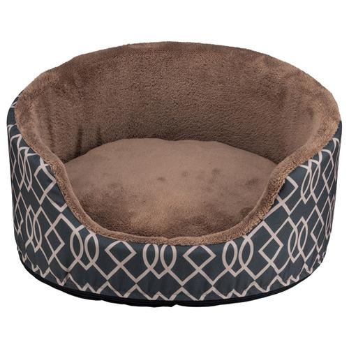 trixie bett claude grau braun f r hunde. Black Bedroom Furniture Sets. Home Design Ideas