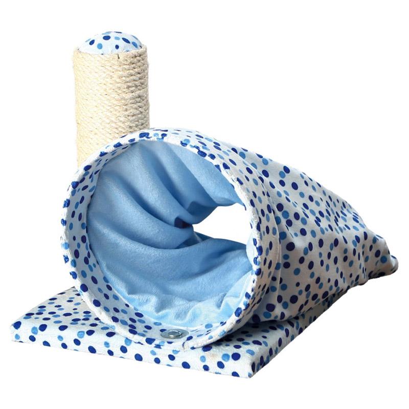 trixie kratzbaum callisto f r k tzchen blau. Black Bedroom Furniture Sets. Home Design Ideas
