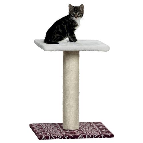 trixie kratzbaum carlotta wei weinrot. Black Bedroom Furniture Sets. Home Design Ideas