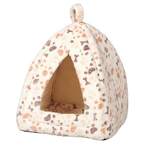 trixie kuschelh hle lingo wei beige f r kleine hunde. Black Bedroom Furniture Sets. Home Design Ideas