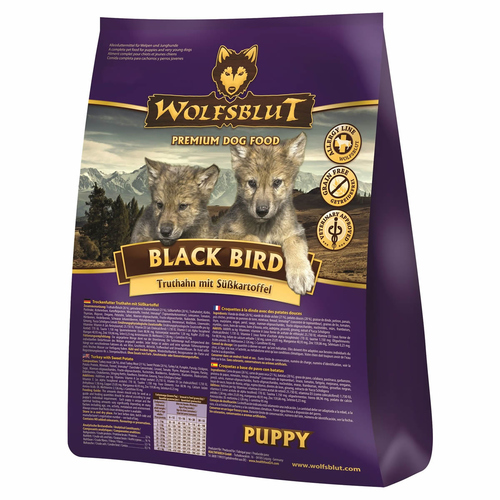 wolfsblut black bird puppy 15 kg. Black Bedroom Furniture Sets. Home Design Ideas