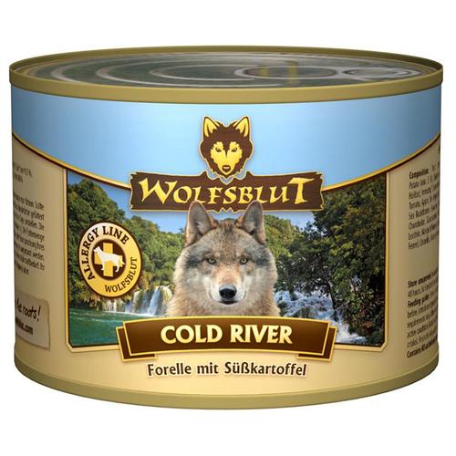 wolfsblut cold river 200 g 6 st ck. Black Bedroom Furniture Sets. Home Design Ideas