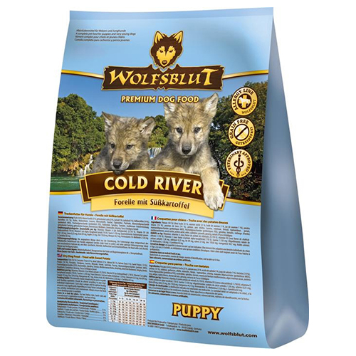 wolfsblut cold river puppy 15 kg. Black Bedroom Furniture Sets. Home Design Ideas