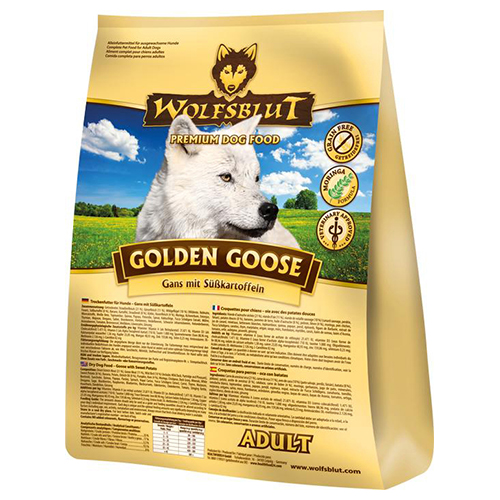 Wolfsblut golden goose 15 kg for Goldorfen futter