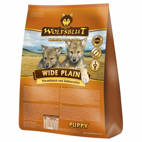 wolfsblut wide plain puppy 500 g. Black Bedroom Furniture Sets. Home Design Ideas