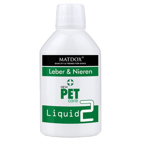 MATDOX New PET care Liquid 2 Leber & Nieren 250 g